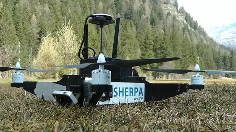 droni sherpa per soccorso alpino