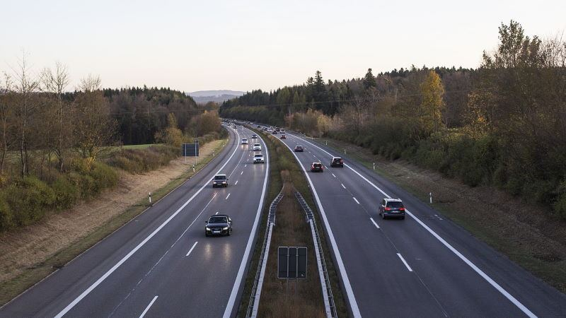 germania incidende drone autostrada